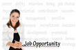 Job Opportunity for human resources and recruitment concept