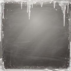 Eiszapfen Hintergrund