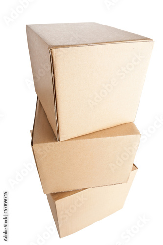 Stack of cartons