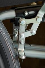Wheelchair stopper