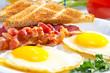 Leinwanddruck Bild - Continental breakfast.