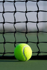 Tennis Ball with Court Net