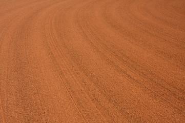 Baseball Infield Rake Lines