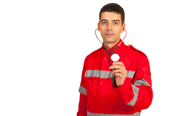 Paramedic man