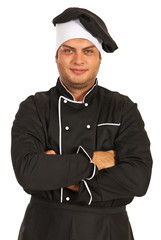 Chef with arms folded