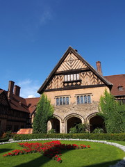 Cecilienhof Palace in Potsdam, Germany