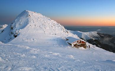 Chopok in winter mountain - Slovakia