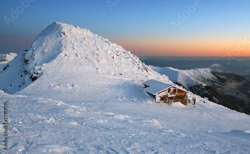 Chopok in winter mountain - Slovakia