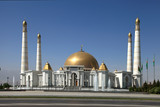 Mosque in native village of first president of Turkmenistan Niya