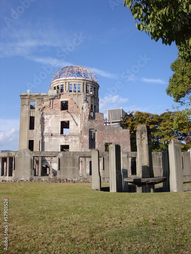 landmark monument of Hiroshima