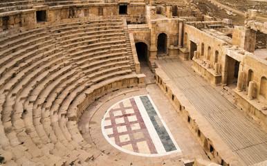 Roman amphitheater in Jerash