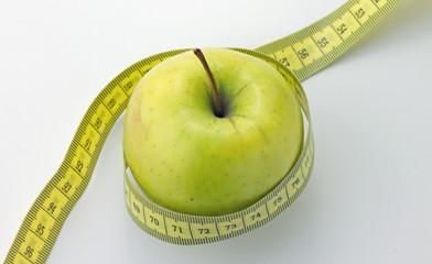 2013 11 02 Apfel Maßband 1