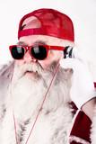Fototapety Babbo Natale dj