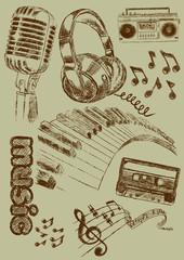 Music Illustration Musik