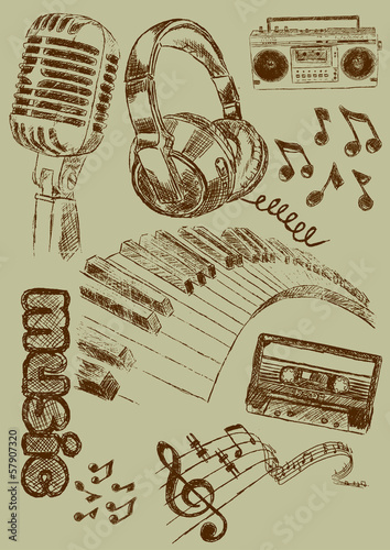Music Illustration Musik