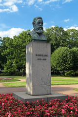 Friedrich Engels monument, Saint-Petersburg, Russia