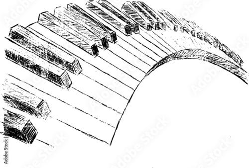Klaviertasten © artefacti