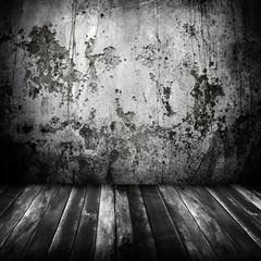grunge interior background