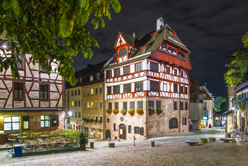 Albrecht Durer House in Nuremberg, Germany