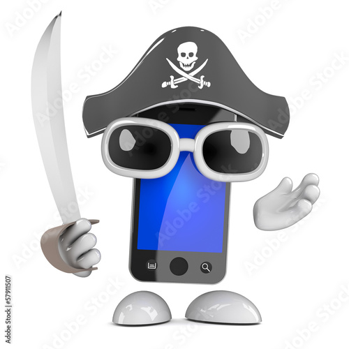 Smartphone pirate