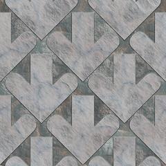 Arrows. Seamless stone pattern.