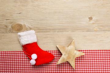 Nikolausschuh mit Stern