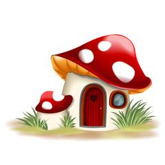 Fantasy mushroom house