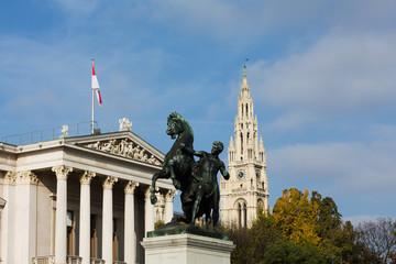 Ringstrasse Wien mit Sehenswürdigkeiten