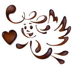 chocolate angel