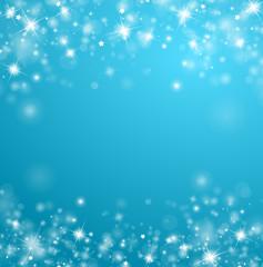 Blauer Glitzerhintergrund