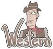 Western sticker
