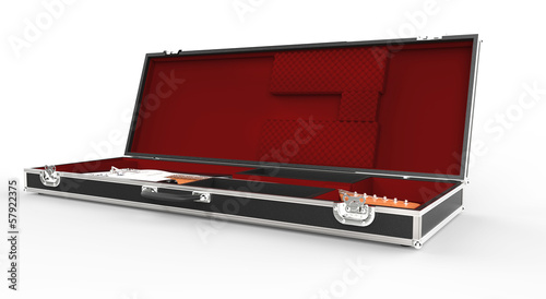 Guitar And Guitar Case