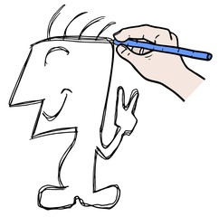 Draw puppet