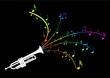 Trompette - explosion de notes