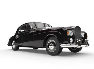 Black Elegant Vintage Car
