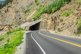 A Short Tunnel on a Mountain Road