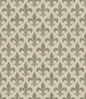 Beige Fleur De Lis Textured Fabric Background