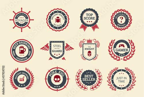 Achievement Badges - 57924702