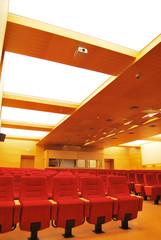 Cinema red seat
