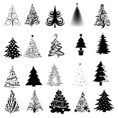Christmas Tree Collection! Vector eps8 / clip art