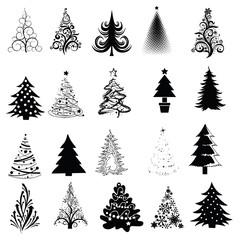 Christmas Tree Collection! Vector eps8 / clip art