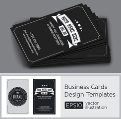 Business card vintage