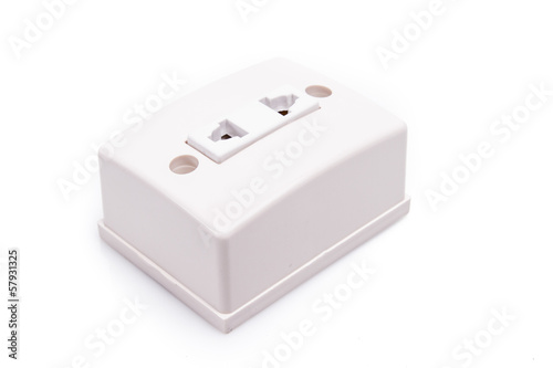 Electric power cord socket
