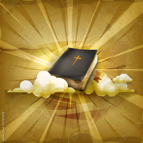 Bible, old style background
