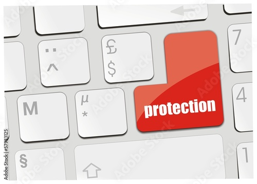 clavier protection