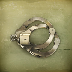 Handcuffs, old style