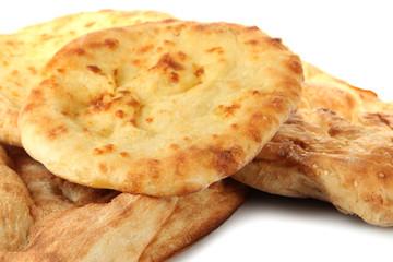 Pita breads close up
