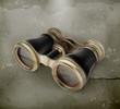 Vintage binoculars old style
