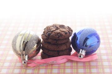 Chocolate Cookies & Christmas Balls
