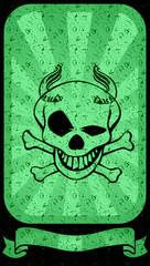squelette grunge